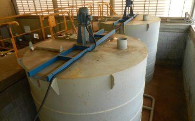 Estação de tratamento de água da Engetref