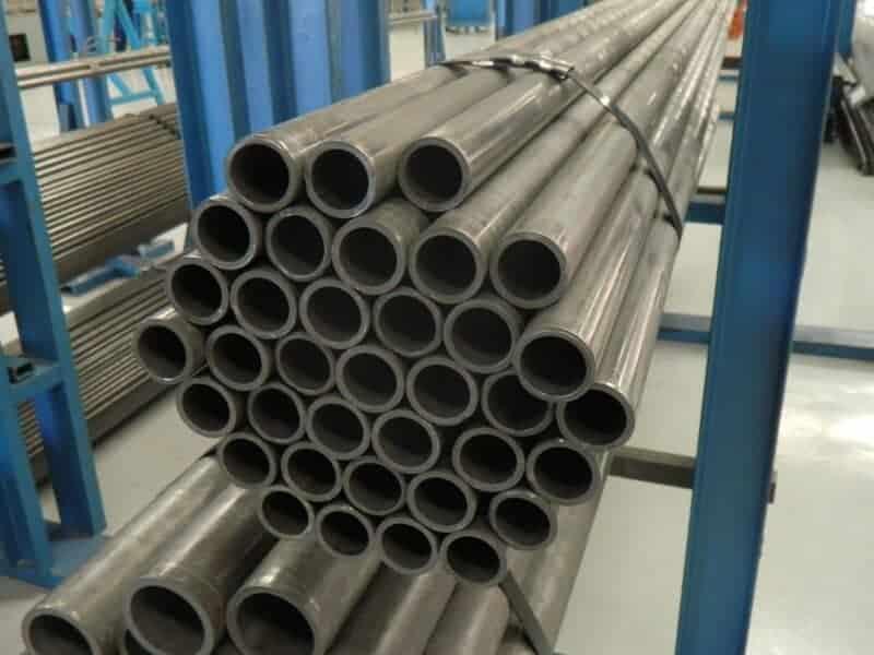 Imagem de tubo de aço trefilado