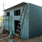 Construção da cabine primária