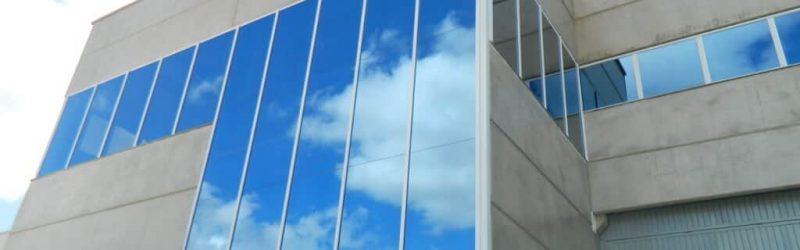 Imagem da fachada do galpão em Sorocaba