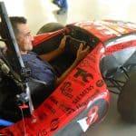 Foto de um colaborador da Engetref no carro da V8 Racing - 4