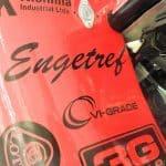 Logotipo da Engetref no F17 da V8 Racing - Lado Esquerdo
