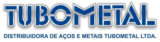 Logotipo da Tubometal, empresa de distribuição de tubos de aço do mesmo grupo que a Engetref