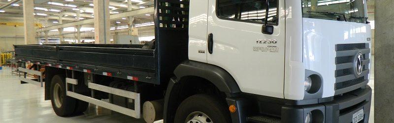 Caminhão novo da Engetref